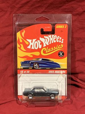 Hot Wheels Classics. Blue 1965 Mustang. **ERROR** for Sale in Pembroke Pines, FL