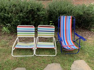 Outdoor patio chairs for Sale in Herndon, VA