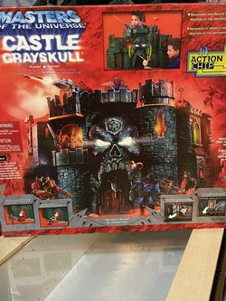 MOTU 200X CASTLE GRAYSKULL Masters of the Universe He-Man incomplete read for Sale in Waco,  TX