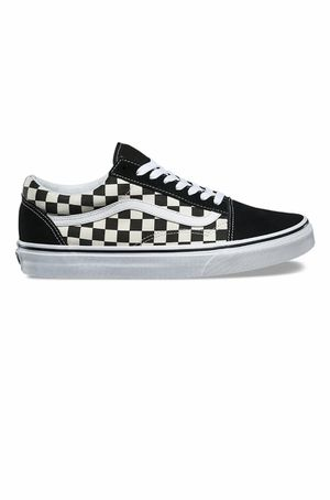 Vans Old Skool - Primary Checkerboard Checker Check - Black/White - women's size 8. used condition. See pictures ask questions and make an offer! for Sale in Queens, NY