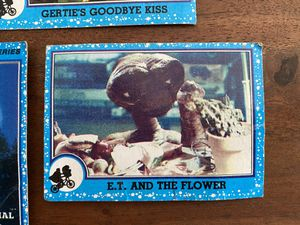 E.T. 1982 movie cards (7 total cards) for Sale in Sacramento, CA