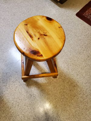 small fine wood stool for Sale in Boston, MA