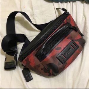Coach Red Camo Bag for Sale in Azusa, CA