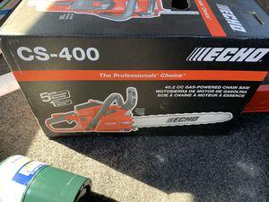 Echo CS 400 brand new for Sale in Santee, CA