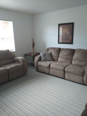 Sofá/Couch Recliner Perfect Condition - Delivery Is Negotiable for Sale in Tamarac, FL