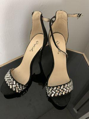 Black stud heels for Sale in Lehigh Acres, FL