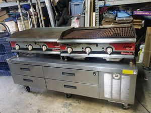 """DELFIELD 75"""" CHEF BASE/REFRIGERATED EQUIPMENT STAND for Sale in Chicago, IL"""