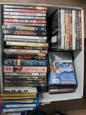 Full Case & Box of DVD's for Sale in Keysville, VA