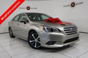 2017 Subaru Legacy for Sale in WESTFIELD, IN