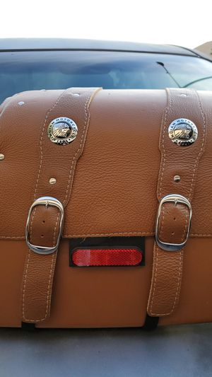Brand new Indian hard saddlebags leather for Sale in El Mirage, AZ