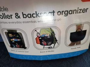 Stroller or backseat organizer for Sale in South Windsor, CT