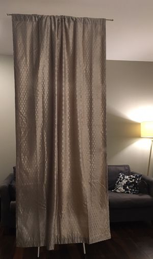 4 shimmery curtain panels for Sale in Bothell, WA