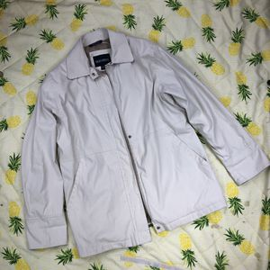 👔 Vintage 90's Bernardo for Nordstrom Zip Up Dress Jacket Offwhite Sz Medium 🏢 for Sale in Fircrest, WA