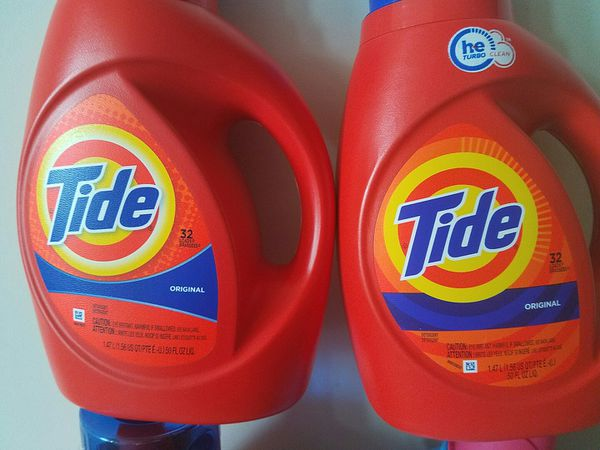 Tide and Downy laundry detergent bundle $30 price firm