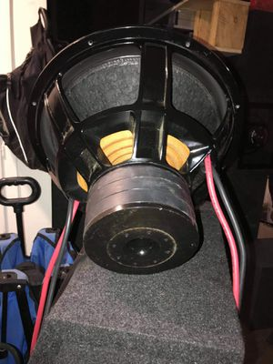 18 inch 1000rms dual 4ohms for Sale in Hayward, CA