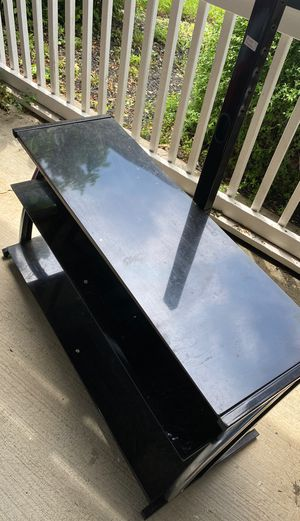Brand new Tv Stand . Used for one week only. $150 only. Must go for Sale in Silver Spring, MD