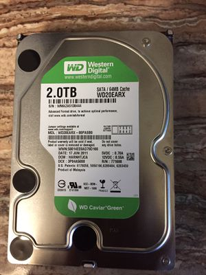 Western Digital 2tb internal hard drive for Sale in Glendale, AZ