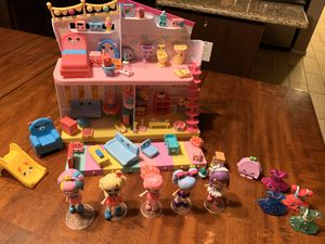 Shopkins Happy Places- house, furniture, dolls for Sale in Gilbert, AZ