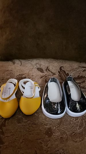 American girl doll/ truly me mix and match Paris collection shoes for Sale in Los Angeles, CA
