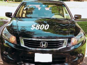 $8OO I sell URGENT my family car 2OO9 Honda Accord Sedan Runs and drives great! Clean title. for Sale in Arlington, VA
