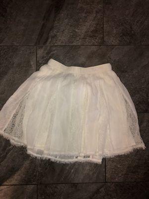 White Hollister Skirt for Sale in Modesto, CA