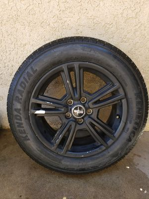 Original 2014 Mustang Rims and Tires for Sale in Ontario, CA
