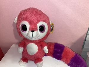 Pink and purple raccoon plushie for Sale in San Diego, CA