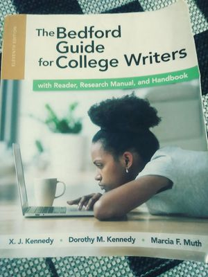 The Bedford Guide for College Writers for Sale in Covina, CA