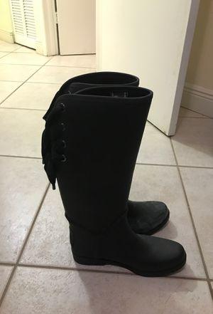 Coach size 10 woman's rain boots for Sale in Miami, FL