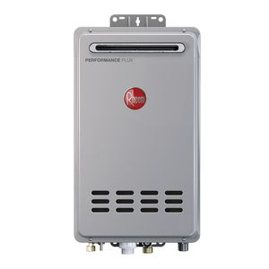 Rheem Performance Plus 7.0 GPM Natural Gas Mid Efficiency Outdoor Tankless Water Heater for Sale in Austin, TX