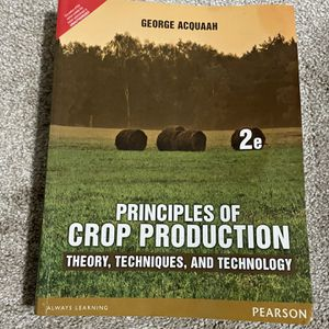 Principles of Crop Production for Sale in Cary, NC