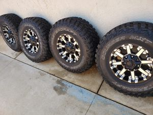 jeep wheels for Sale in Moreno Valley, CA