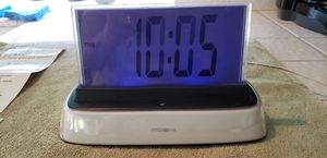Hello Moshi Interactive Talking Alarm Clock READ BELOW for Sale in Upland, CA