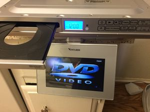 DVD/CD/radio to be mounted under counter for Sale in Orange, CA