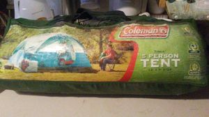 Coleman, Tioga style 5 man tent for Sale in Deposit, NY