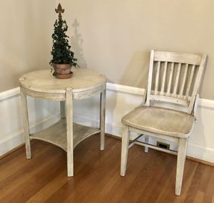 Oak Antique Table & Chair Set for Sale in Portland, OR