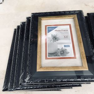 Photo frames 4x6 all for $40 for Sale in Baton Rouge, LA