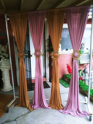 NEW SET OF 4 CURTAINS for Sale in Fontana, CA