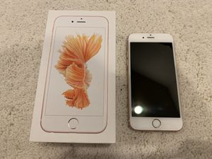 Apple iPhone 6S Rose Gold — Unlocked for Sale in Lynnwood, WA