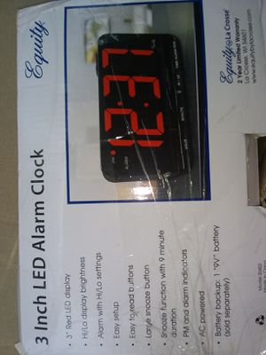 4 different alarm clocks !! ~Misc Alarm clock lot ~ for Sale in Culloden, WV