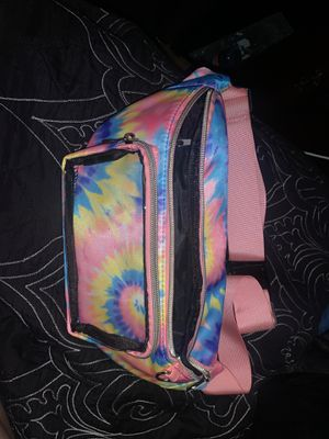 Pink tie dyed Fanny pack for Sale in Paramount, CA