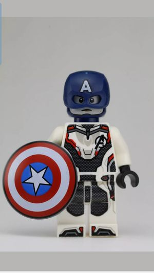 BRAND NEW LEGO MARVEL Captain America (End Game Suit) Condition is New. for Sale in Alexandria, VA