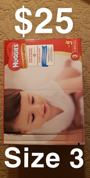 Huggies Diapers $25 for Sale in ROWLAND HGHTS, CA
