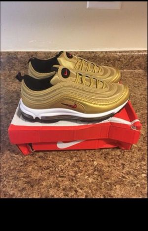 Nike Air Max 97 Gold Size 8 New Never Worn for Sale in Bronx, NY