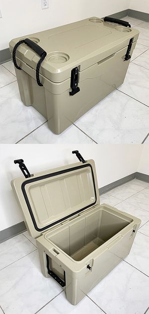 "New in box $70 TOYEEKA Heavy-Duty 40qt Ice Box Cooler w/ Cup Holder & Carry Handle 24""x13""x15"" for Sale in El Monte, CA"