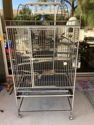 Huge bird pet cage for Sale in Peoria, AZ