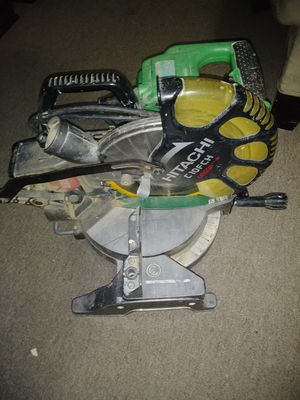 """MITER SAW. HITACHI 10"""" for Sale in Clinton, MD"""