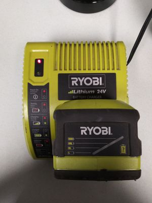 Ryobi battery and charger for Sale in Kennewick, WA
