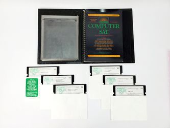 Vintage IBM PC Software - Barron's Computer Study Program For The SAT (1986) - Untested for Sale in Trenton,  NJ