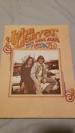 2 John Denver Song Books for Sale in Tacoma, WA